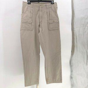 Cabela's 7 pocket hiker pants mens tag sz 36 khaki